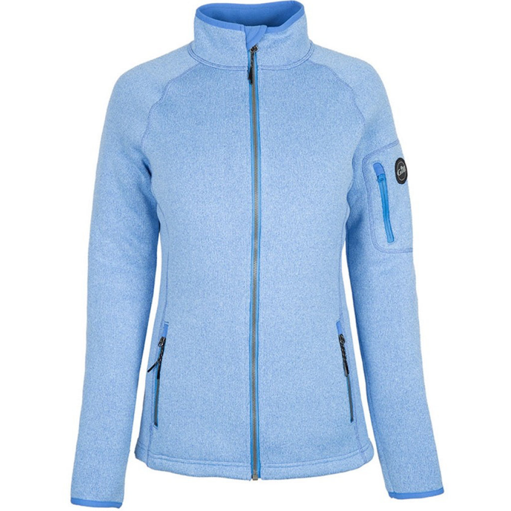 Blue of Gill Women's Knit Fleece Jacket.