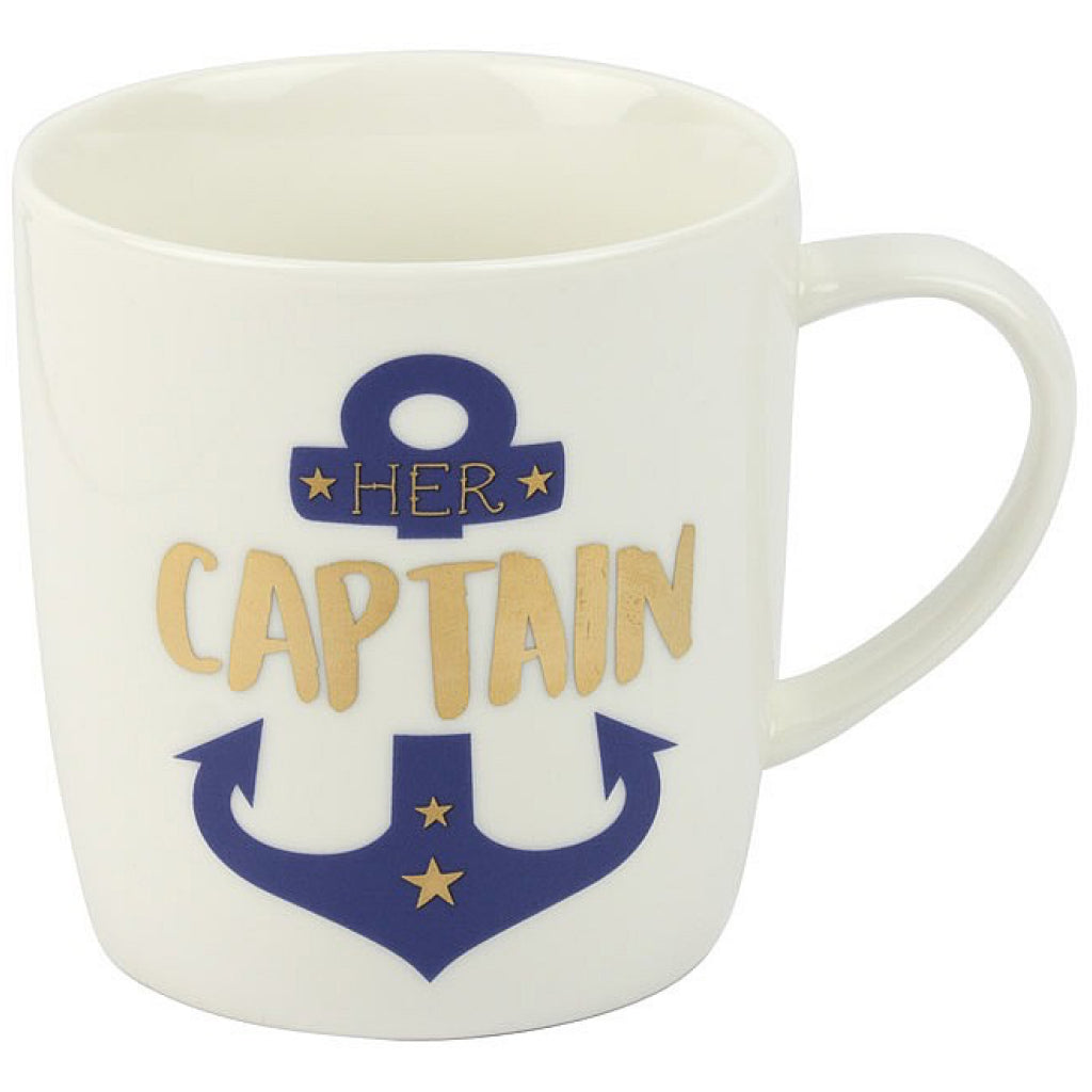 'Her Captain' Ceramic Mug