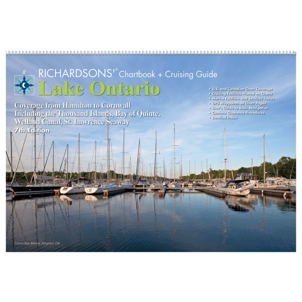 Richardsons Lake Ontario Chart Book