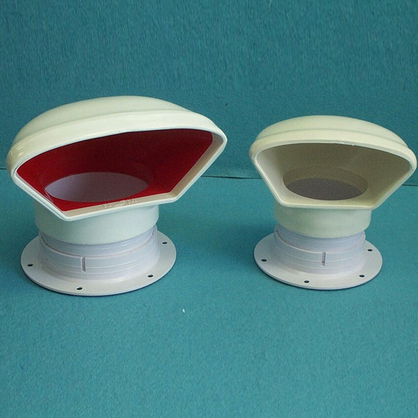 "3"" Low Profile Red Interior Cowl Vent"