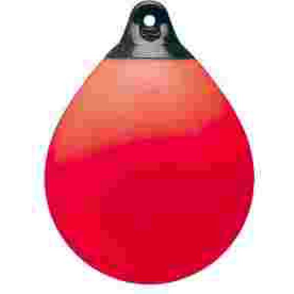 "Sidewind Fenders 24"" Diameter Red Mooring Buoy"