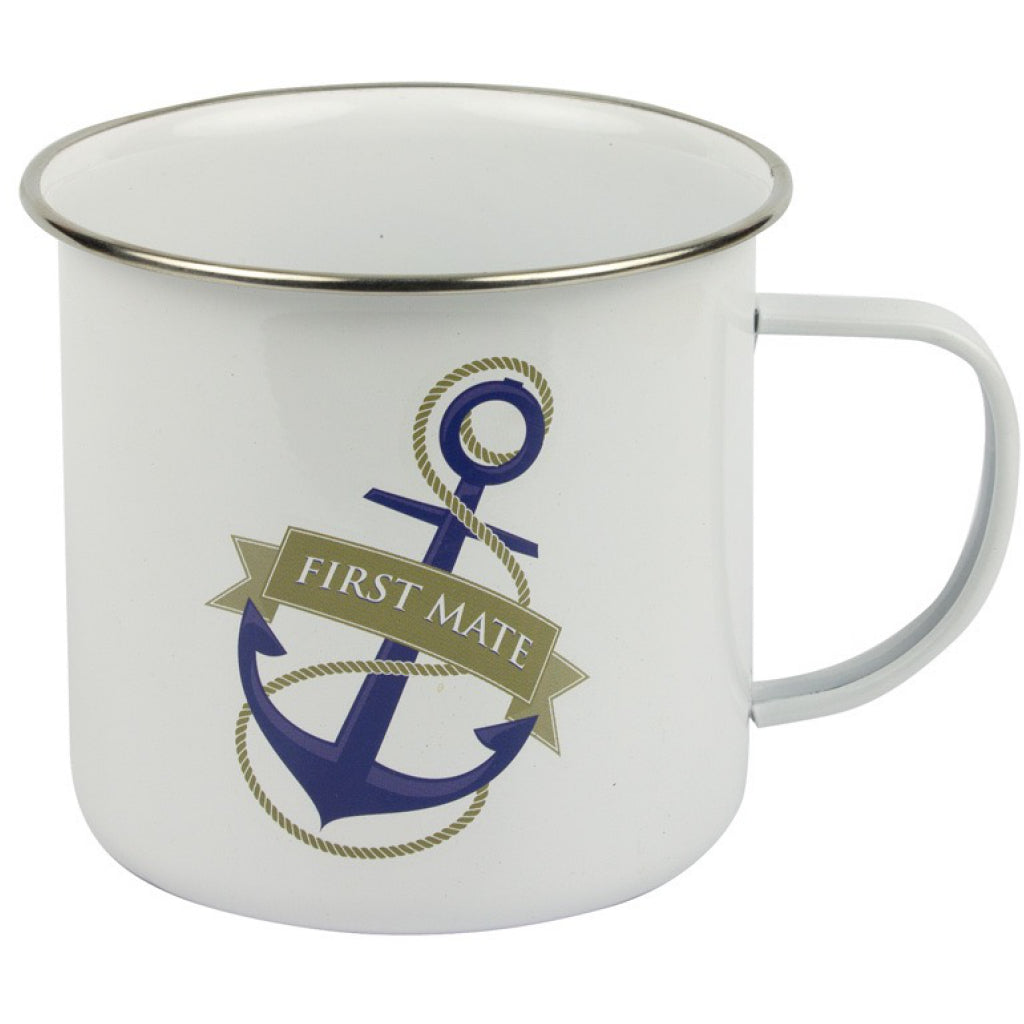Nauticalia 'First Mat' Tin Mug