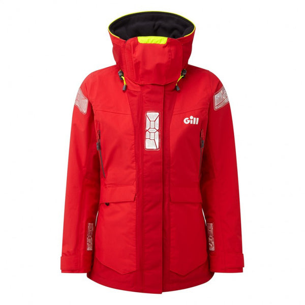 OS2 Offshore Women's Jacket Red.