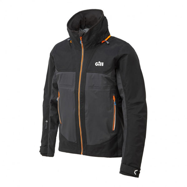 Gill Race Fusion Jacket Graphite angle view