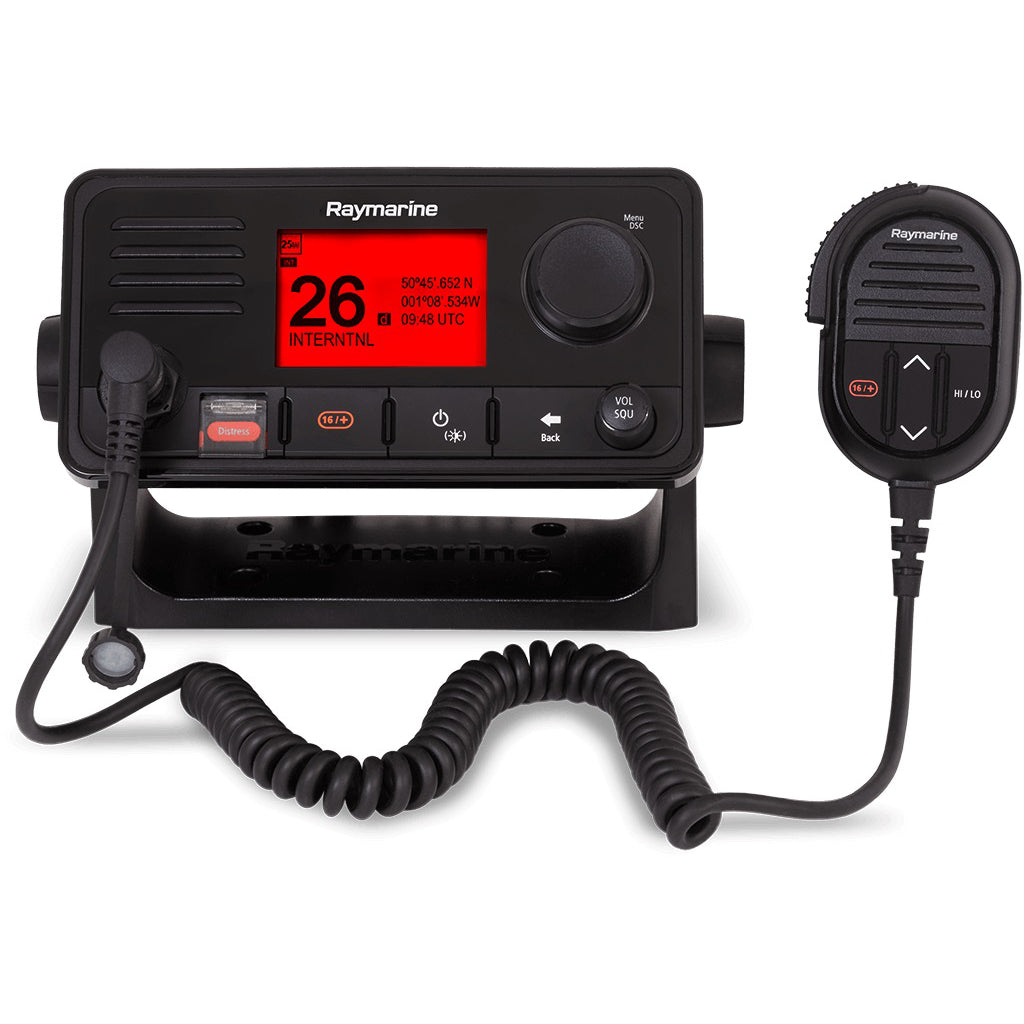Raymarine Ray73 Vhf Radio With Gps, Ais Receiver.