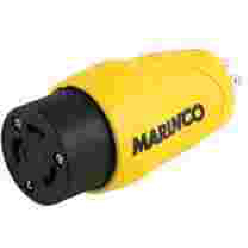 Marinco Straight 30A FEM/15A Male Eel Adapter
