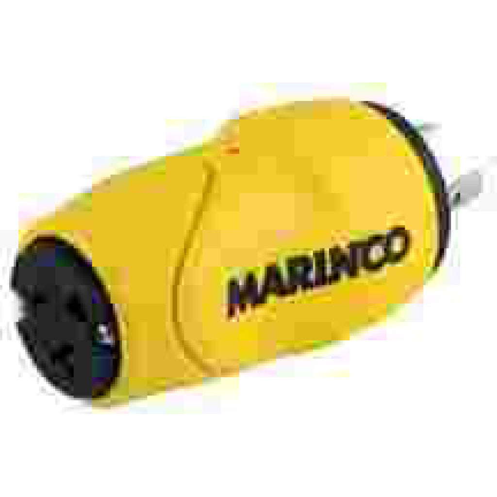 Marinco 15A Fem/30A Male Eel Straight Adapter