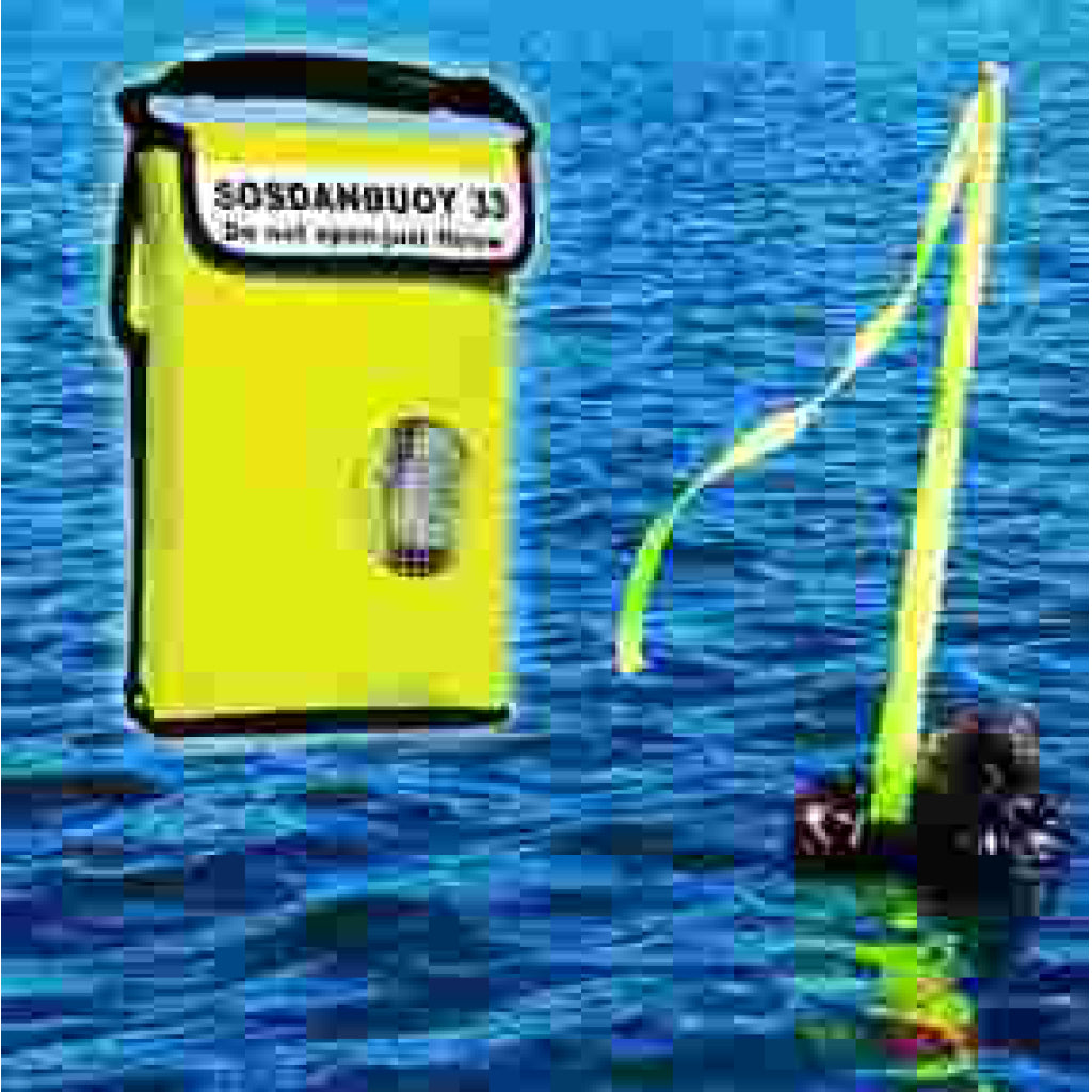 S.O.S. Man Overboard Danbuoy Marker