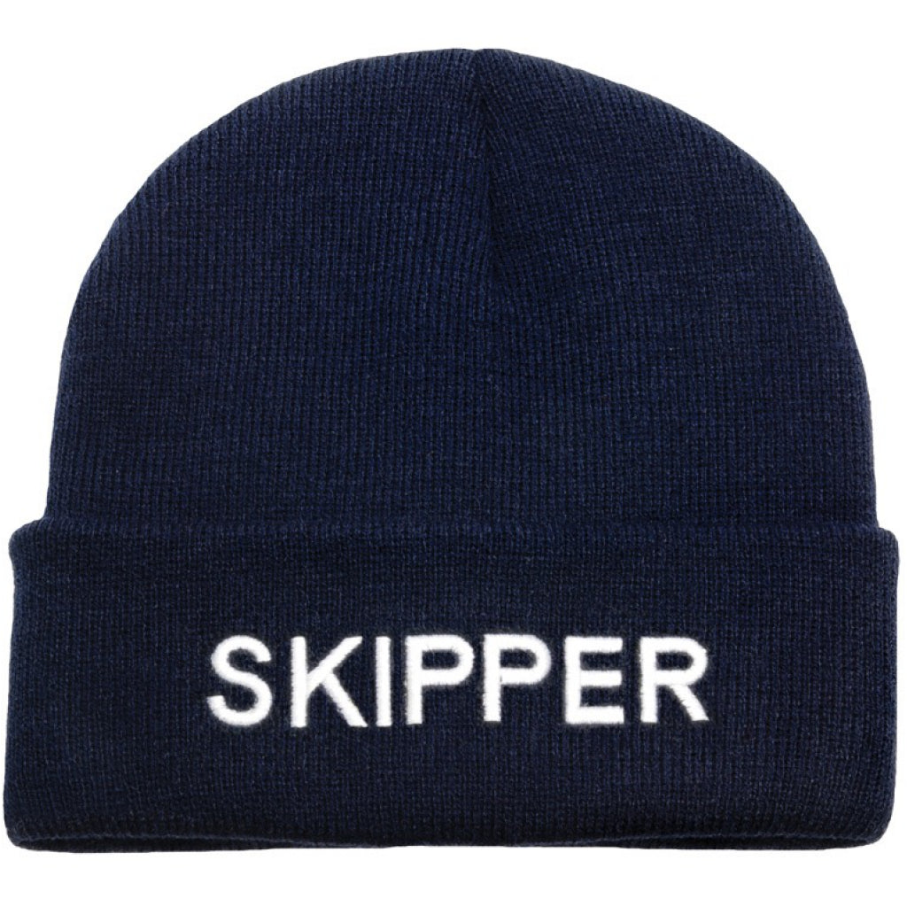 'Skipper' Knit Beanie Hat