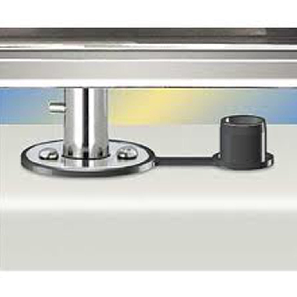 Magma Rectangular Flush Deck Single BBQ Mount
