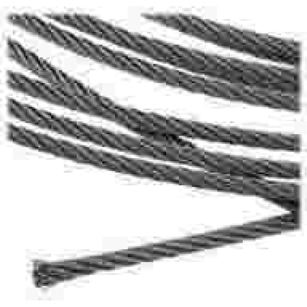 7x19 316 Stainless Steel 1/8 Wire (per foot)