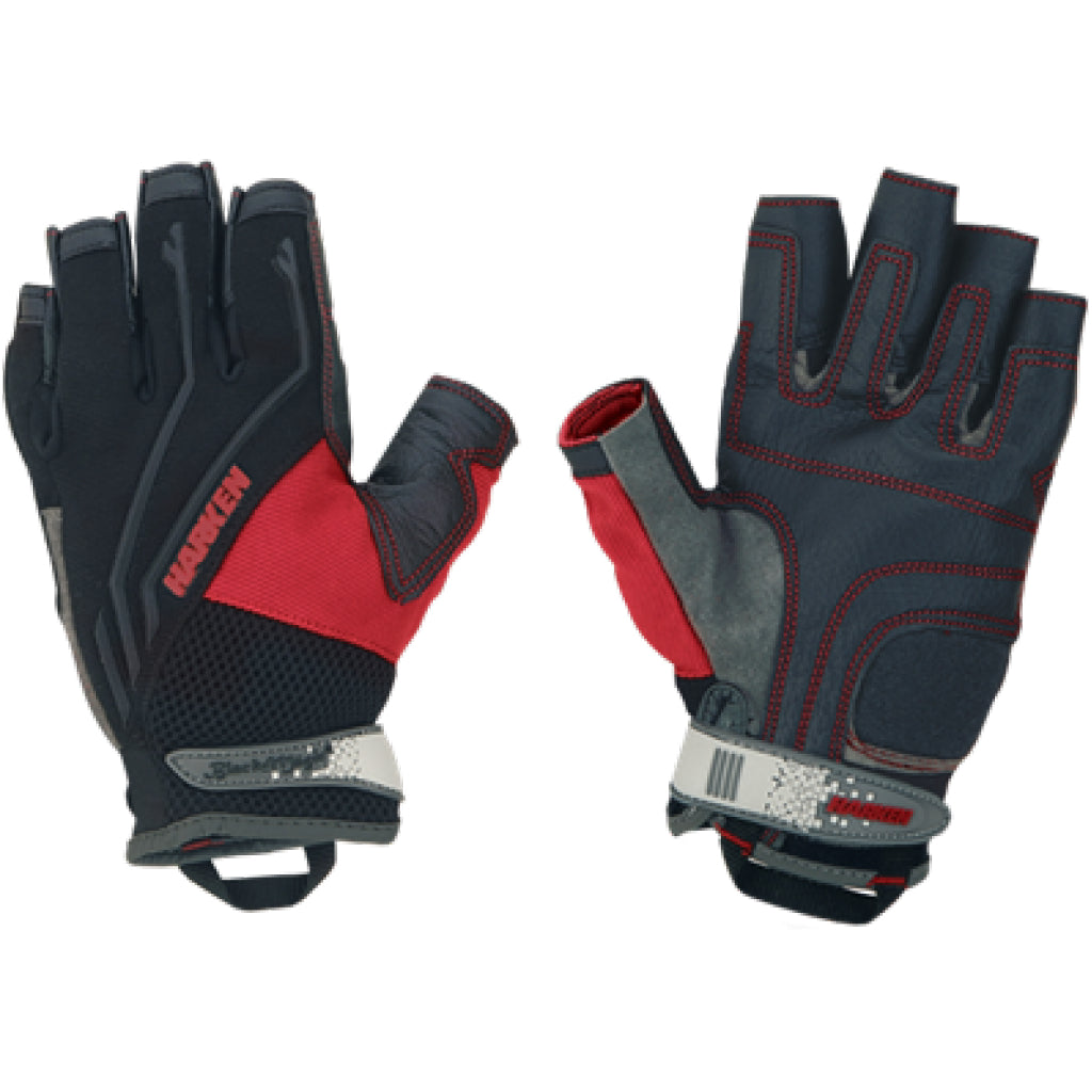 Harken 3/4-Finger Medium Reflex Gloves