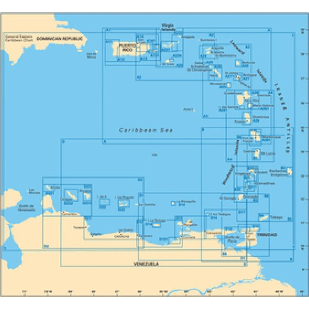 Imray Virgin Islands St. Thomas Caribbean Chart