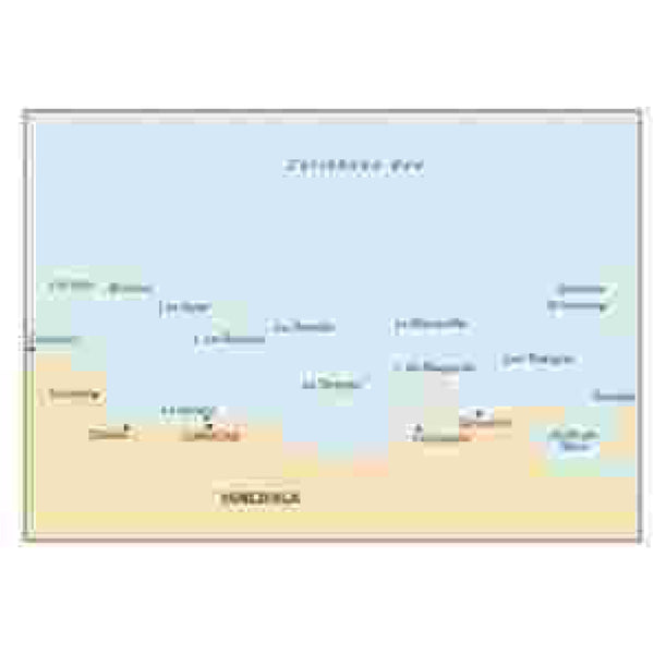Imray Coast of Venezuela Caribbean Chart