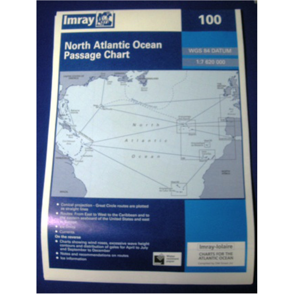 Imray North Atlantic Ocean Caribbean Chart