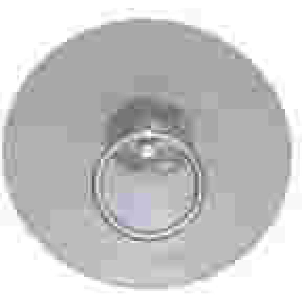 "Weaver  2"" Standard Gray Pad Tow Ring"