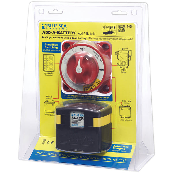 Blue Sea System Add-A-Battery Kit
