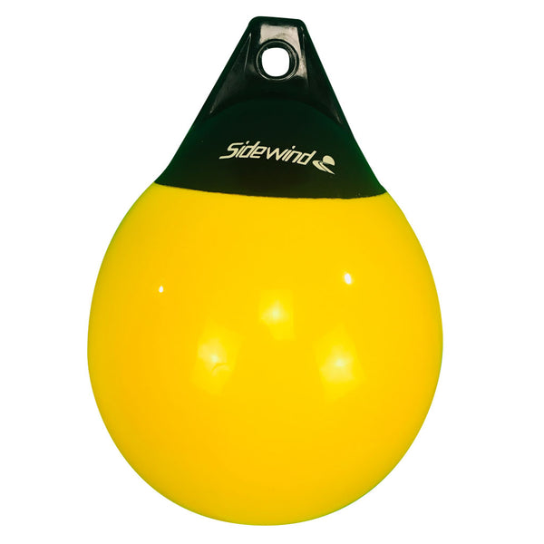 Yellow Mooring Buoy