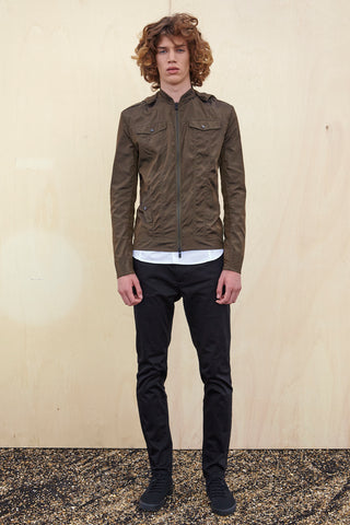 BOMBER JACKET - in khaki for men