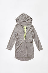 LACED WINDBREAKER - in grey for women
