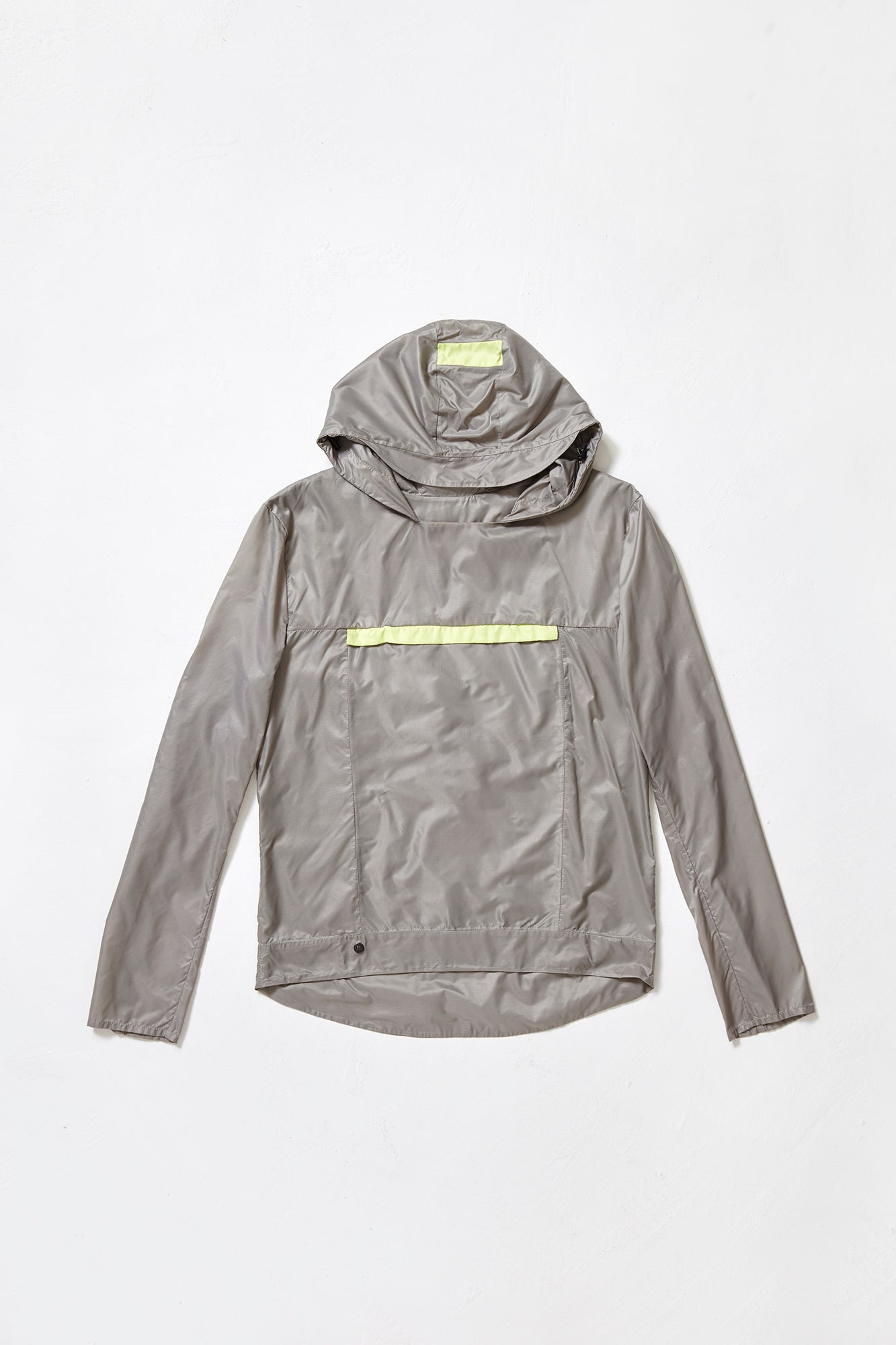 POUCH POCKET JACKET - grey raincoat for men