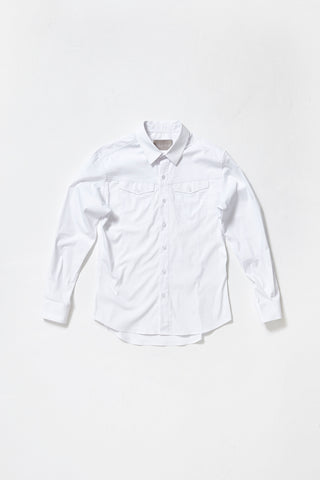 WHITE SHIRT WITH POCKETS for men