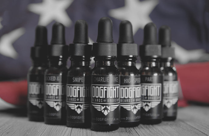 MILITARY EDITION Vol 1 BEARD OILS | Click here to view all