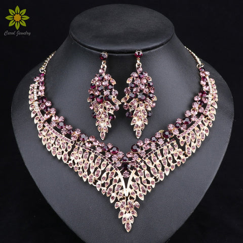 African Bridal Jewelry Set