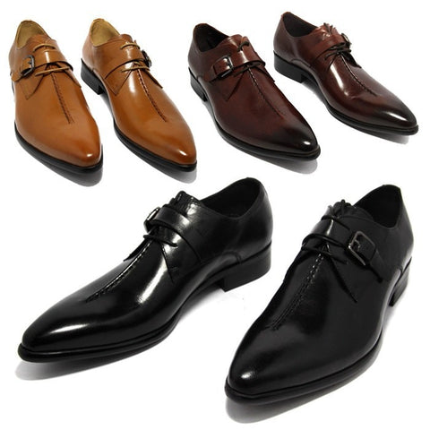 Genuine Leather men's Dress Shoes