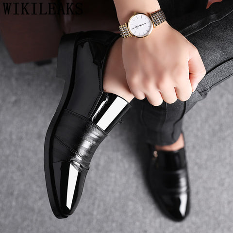 Men's  Leather Designer Dress Shoes