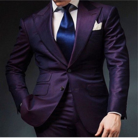 Men's 2 Piece Tuxedo w/ Slacks and Jacket
