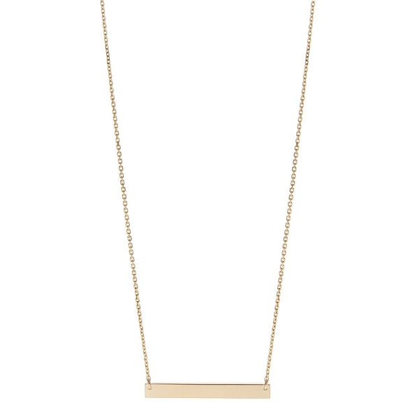 Perrywinkle's Expressions Diamond Bar Necklace In 14K Yellow Gold