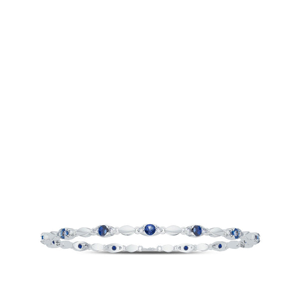 Perrywinkle's  1785 Classics Diamond Straight Line Bracelet In 14K White Gold