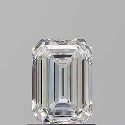 1.01 Carat H-VS2 Emerald Cut Diamond