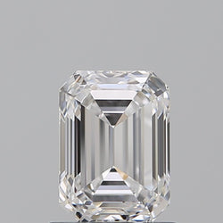 2.22 Carat F-VVS2 Emerald Cut Diamond