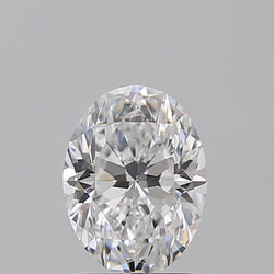 2.01 Carat G-SI1 Oval Diamond FVM