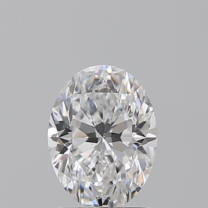 0.70 Carat D-SI1 Oval Diamond