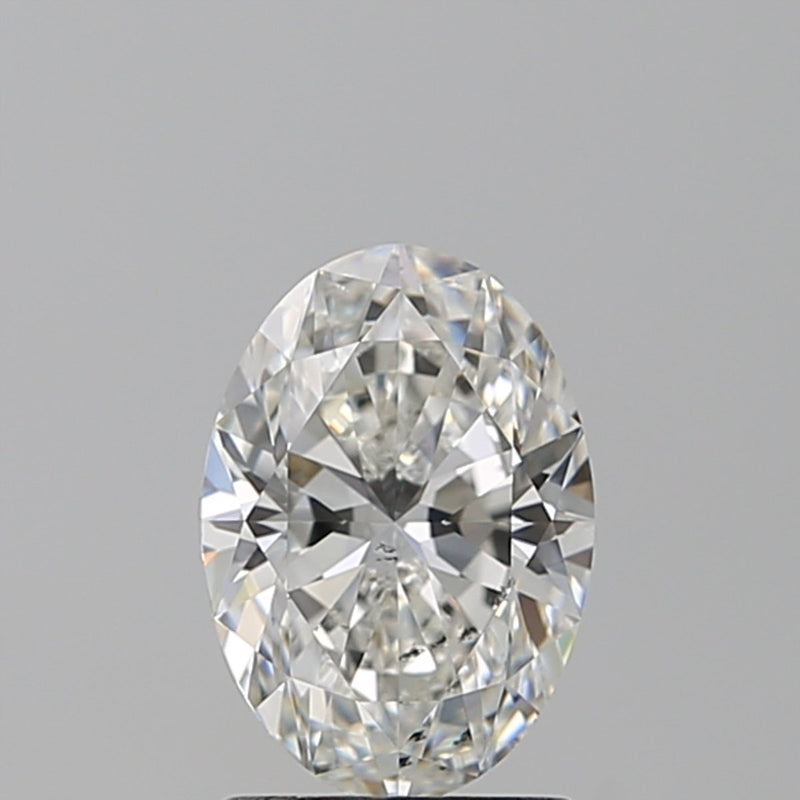 1.53 Carat I-SI2 Oval Diamond