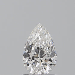 0.70 Carat G-SI1 Pear Diamond