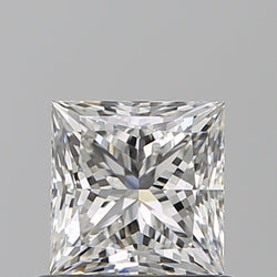 1.01 Carat G-VS1 Princess Diamond FVM