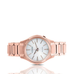 Women's Citizen Modena Eco-Drive Watch in Rose Gold