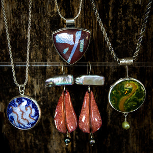 Glass Enamel Jewelry