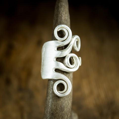 Fork Ring - Original Jewelry by Kristin Ellis