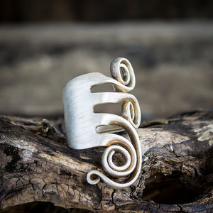 Fork Ring - Original Handmade Jewelry by Kristin Ellis