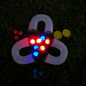 Light Up Pindaloo™ Set + 2 Led Balls