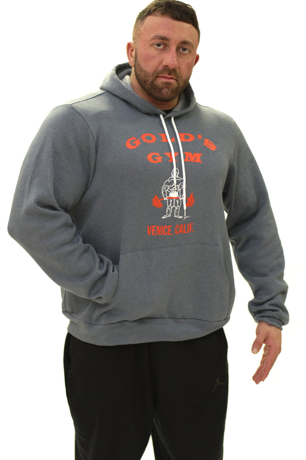 OG Golds Gym Hardcore Hoodie – Rock Slate
