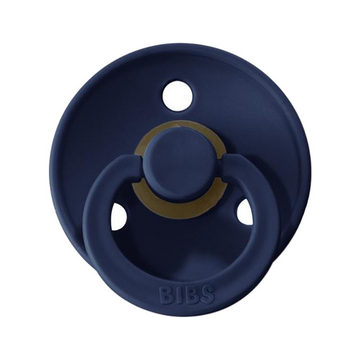 BIBS classic round pacifier, deep space