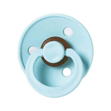 BIBS classic round pacifier, mint