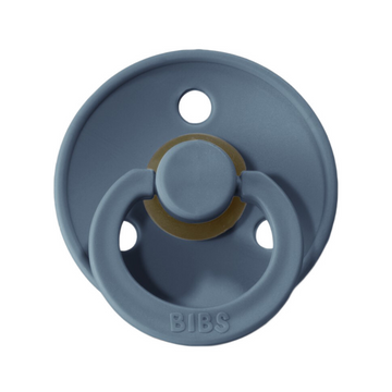 BIBS classic round pacifier, petrol