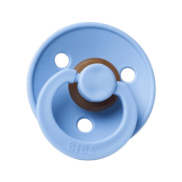 BIBS classic round pacifier, sky blue